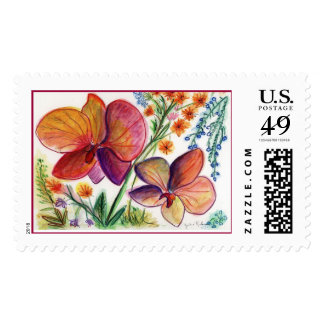 Orchid 31 Postage Stamp