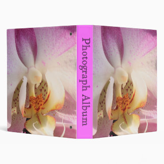 Orchid 3 Ring Binder