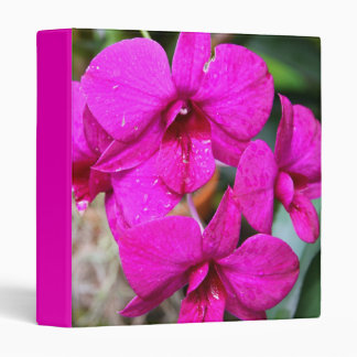Orchid 3-Ring Binder
