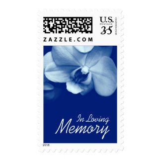 Orchid 6 In Loving Memory Funeral Postage