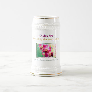 Orchid Ale Beer Stein