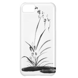 Orchid and Bee Zen painting iPhone 5C Cover