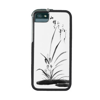 Orchid and Bee Zen painting iPhone 5/5S Cover