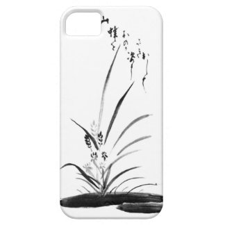 Orchid and Bee Zen painting iPhone SE/5/5s Case