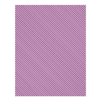 Orchid and Black Stripe Flyer