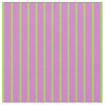 [ Thumbnail: Orchid and Chartreuse Colored Stripes Fabric ]