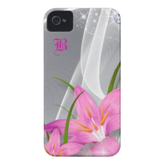 Orchid and Diamonds iPhone 4 Case-Mate Case