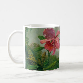 Orchid and Hummingbird 1902 Coffee Mug