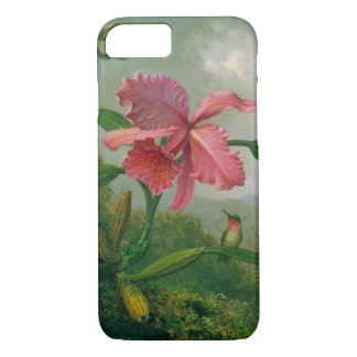 Orchid and Hummingbird 1902 iPhone 8/7 Case