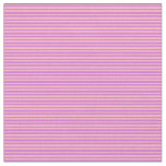 [ Thumbnail: Orchid and Light Pink Colored Lines Fabric ]