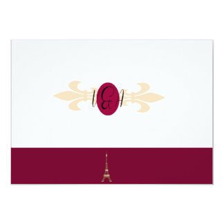 Orchid and Soft Pink Thank You Card