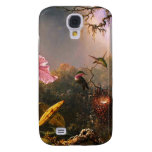 Orchid and Three Brazilian Hummingbirds Galaxy S4 Covers