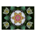 Orchid Angels Mandala Card