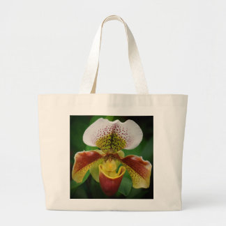 Orchid Art Large Tote Bag