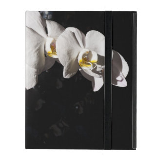 orchid at black iPad cover