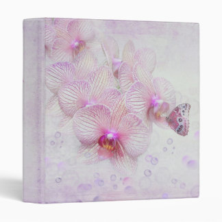Orchid Beauty 3 Ring Binder