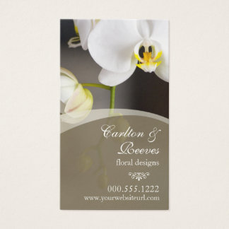 Orchid Blooms 2 Business Card
