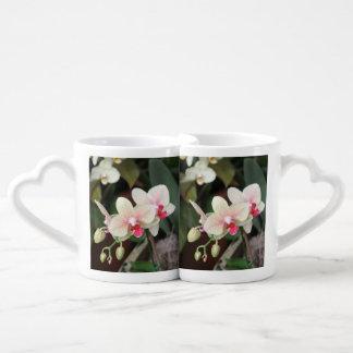 Orchid Blooms Coffee Mug Set