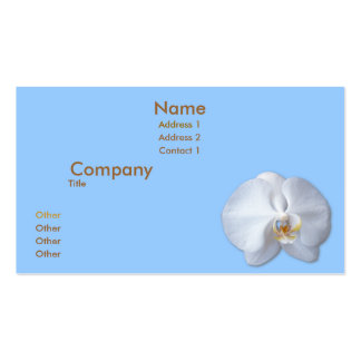 Orchid Blossom Business Card