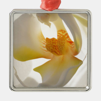 Orchid Blossom Metal Ornament