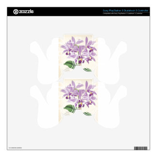 Orchid Blossom Skins For PS3 Controllers