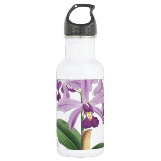 Orchid Blossom Stainless Steel Water Bottle