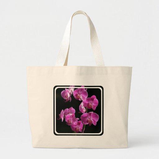 Orchid Blossoms Canvas Bag