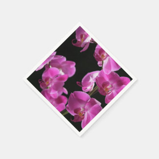 Orchid Blossoms Standard Cocktail Napkin