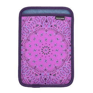 Orchid Blue Paisley Scarf Fabric Sleeve For iPad Mini