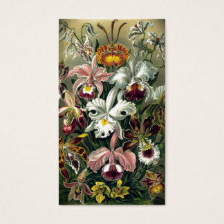 Orchid Botanical Print Business Card