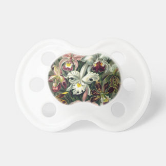 Orchid Botanical Print Pacifier