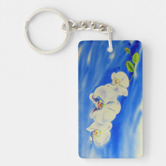 Orchid Breeze Keychain