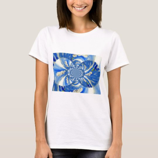 Orchid Breeze Mandala T-Shirt
