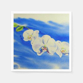 Orchid breeze paper napkin