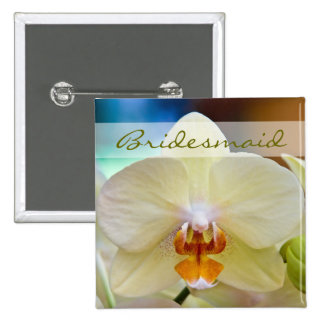 Orchid • Bridesmaid Wedding Button