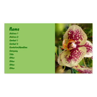 Orchid Business Card