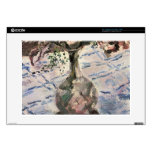 "Orchid by Lovis Corinth 15"" Laptop Decal"