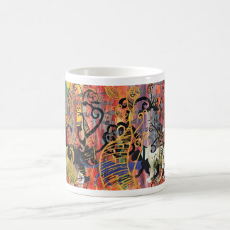Orchid Cats Coffee Mug