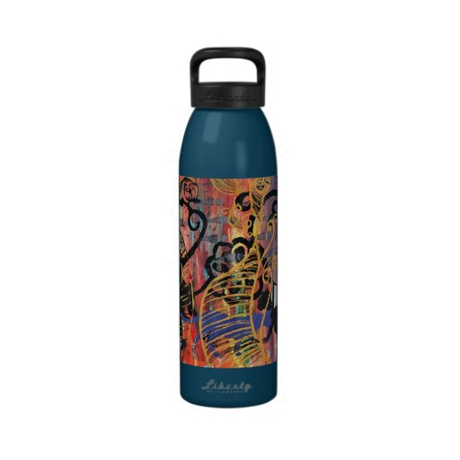 Orchid Cats Water bottle