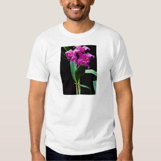 Orchid cattleya (Hailstorm Nilene)  flowers T-shirts