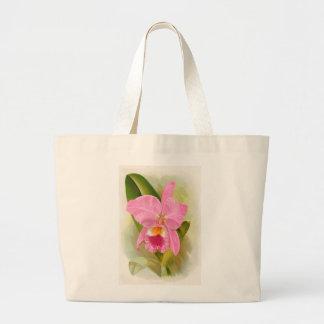 Orchid - Cattleya Labiata Canvas Bags