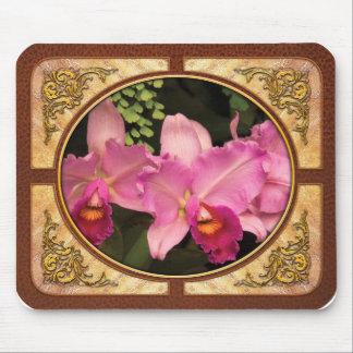 Orchid -  Cattleya - Magenta Splendor Mouse Pad