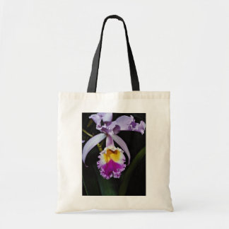 Orchid, cattleya trianae (columbia)  flowers tote bag