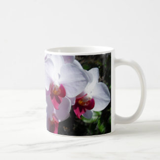 ORCHID CLASSIC WHITE COFFEE MUG