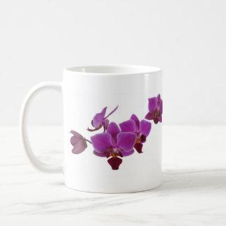 Orchid Classic White Coffee Mug