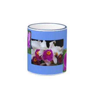 Orchid Color Ringer Coffee Mug