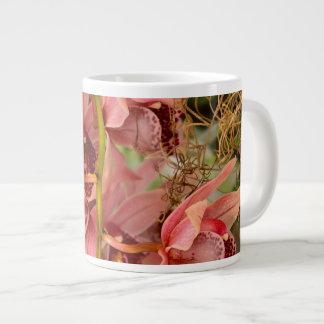 Orchid - Cymbidium - Vivien hainsworth x trinket Extra Large Mug