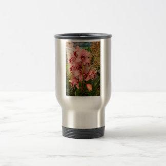Orchid - Cymbidium - Vivien hainsworth x trinket Travel Mug
