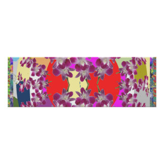 ORCHID : Cymbids Golden Shower Flower Gallery Wrap Poster