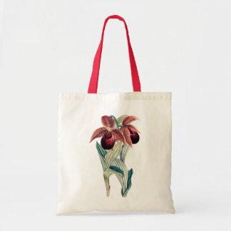 ORCHID (Cypripedium Tibeticum) Tote Bag Canvas Bag